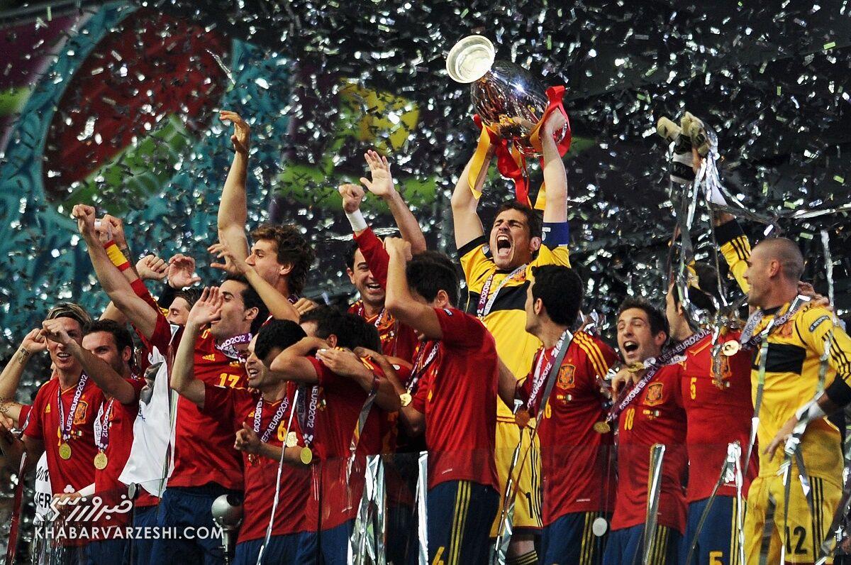 قهرمانان جام ملتهای اروپا (یورو 2012 - اسپانیا)