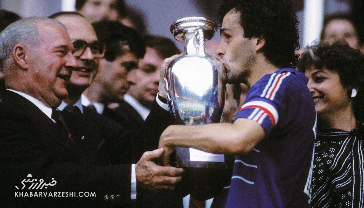 قهرمانان جام ملتهای اروپا (یورو 1984 - فرانسه)