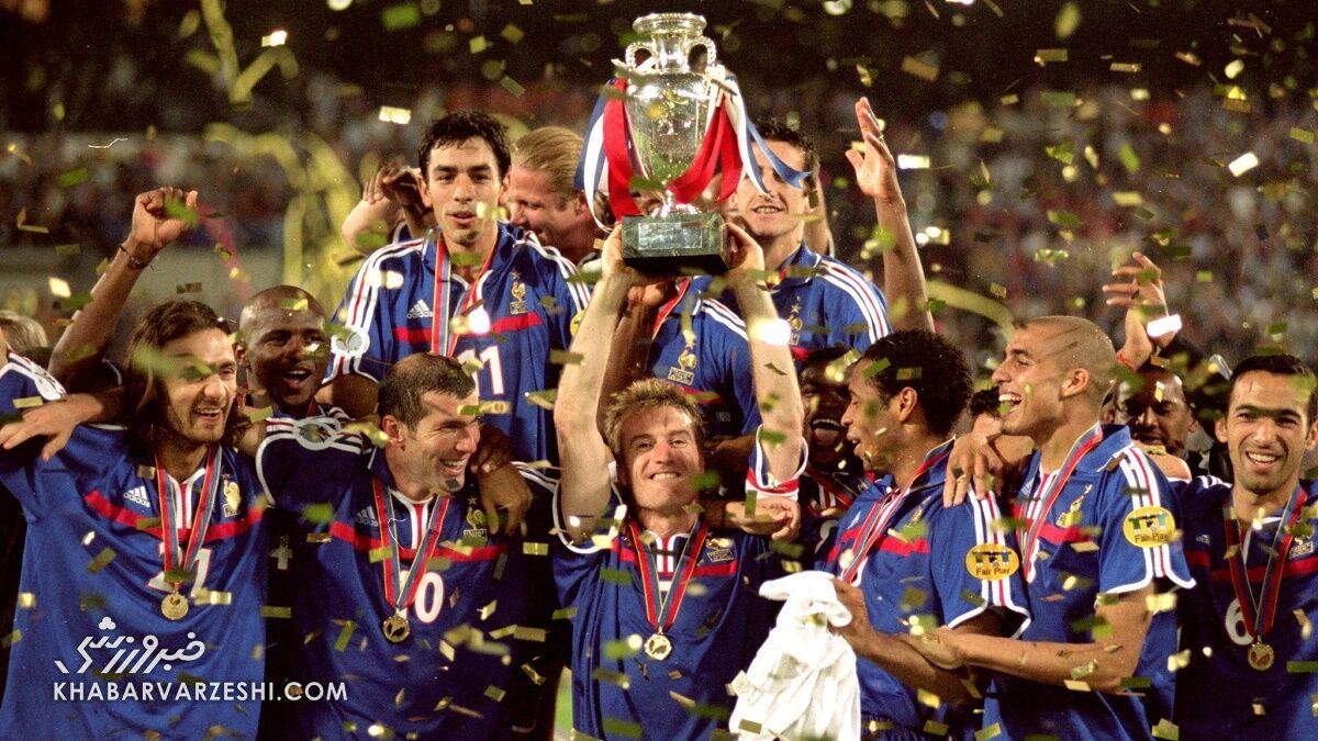 قهرمانان جام ملتهای اروپا (یورو 2000 - فرانسه)