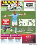 روزنامه موندو  استرلینگ جایگزین