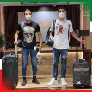 عکس  ستارههای پرسپولیس و استقلال به اردوی تیم ملی رسیدند