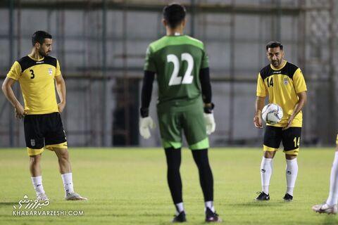 سامان قدوس؛ تمرین تیم ملی ایران در بحرین (18 خرداد 1400)