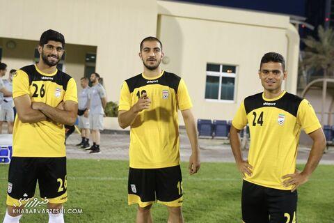 مجید حسینی؛ تمرین تیم ملی ایران در بحرین (18 خرداد 1400)