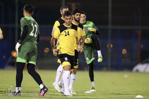 جعفر سلمانی؛ تمرین تیم ملی ایران در بحرین (18 خرداد 1400)