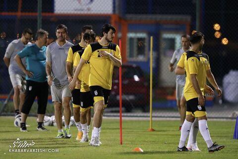 تمرین تیم ملی ایران در بحرین (18 خرداد 1400)