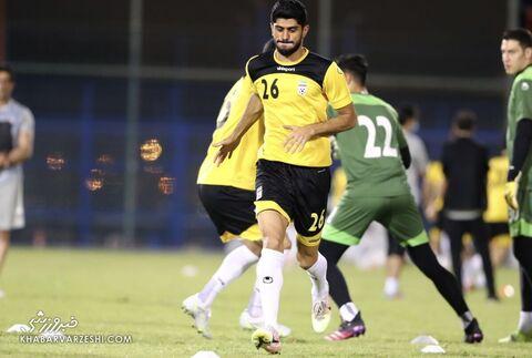 دانیال اسماعیلیفر؛ تمرین تیم ملی ایران در بحرین (18 خرداد 1400)