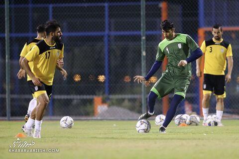 علیرضا بیرانوند؛ تمرین تیم ملی ایران در بحرین (18 خرداد 1400)