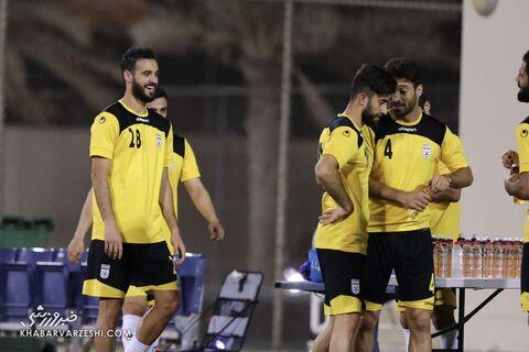 احمد نوراللهی؛ تمرین تیم ملی ایران در بحرین (18 خرداد 1400)