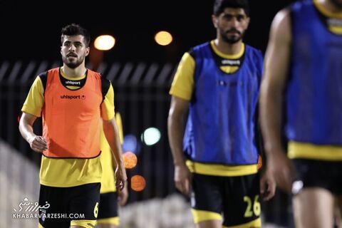 سعید عزتاللهی؛ تمرین تیم ملی ایران در بحرین (18 خرداد 1400)