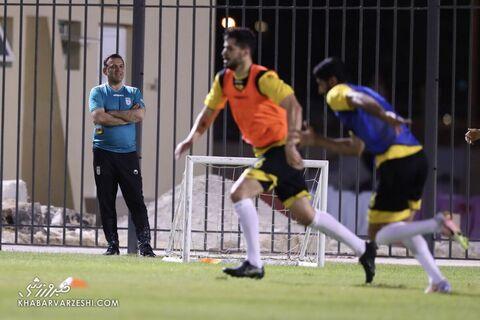 شهابالدین عزیزی خادم؛ تمرین تیم ملی ایران در بحرین (18 خرداد 1400)