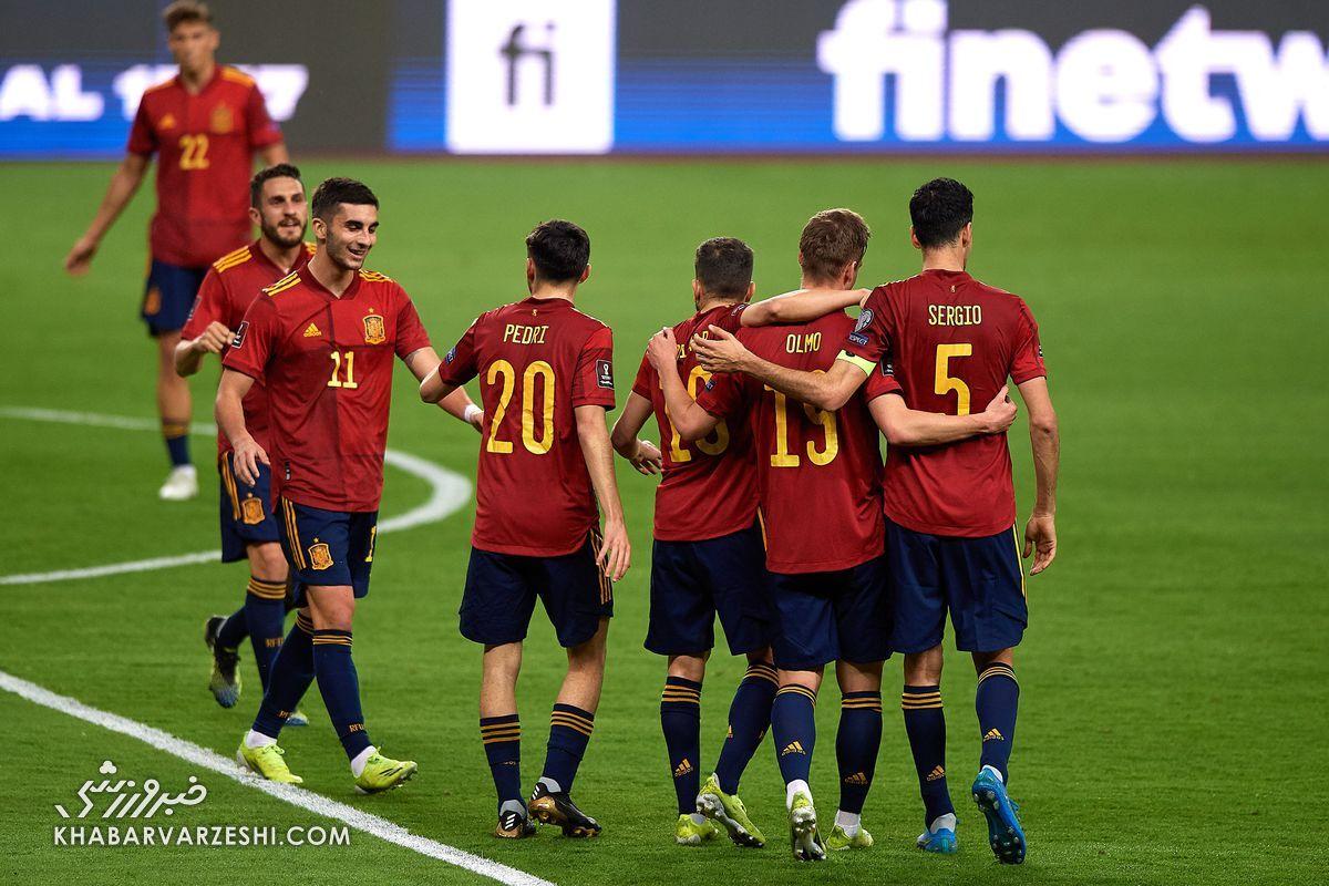 اسپانیا (گروه E یورو 2020)