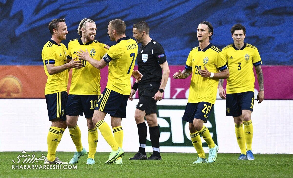سوئد (گروه E یورو 2020)
