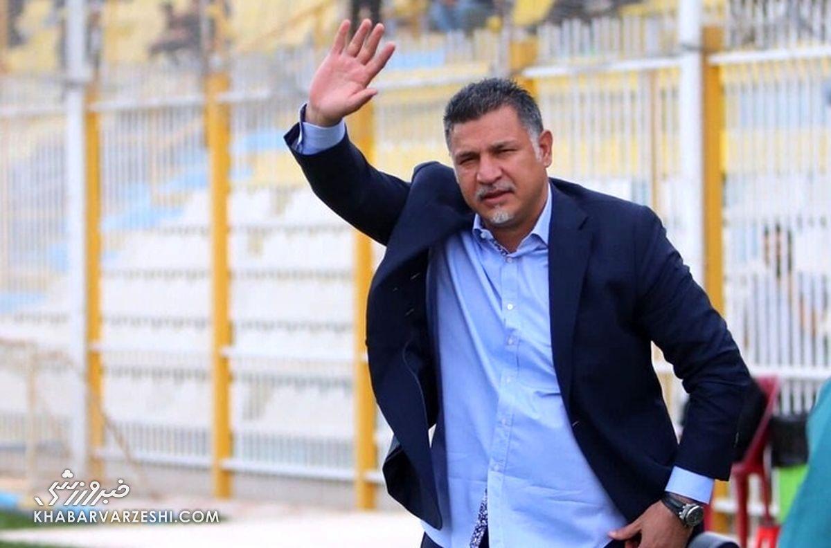 واکنش فوری علی دایی به پیروزی ایران در شب گلزنی رونالدو!