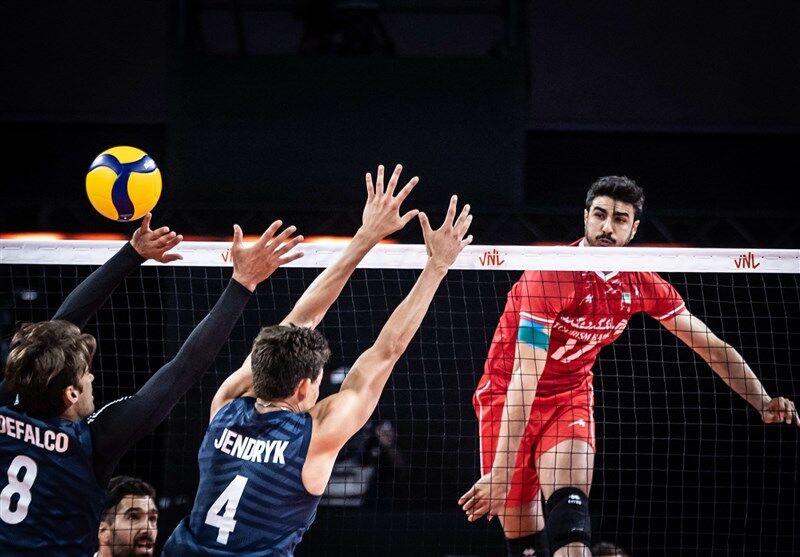 ویدیو | خلاصه والیبال ایران ۳-۰ آمریکا