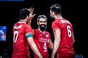 ترکیب تیم ملی والیبال ایران مقابل استرالیا