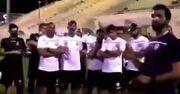 ویدیو  اقدام عجیب پسر پادشاه بحرین قبل از مسابقه با ایران!
