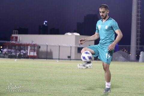 مجید حسینی؛ تمرین تیم ملی ایران در بحرین (19 خرداد 1400)
