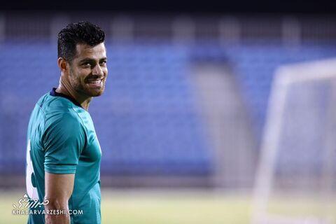 مرتضی پورعلیگنجی؛ تمرین تیم ملی ایران در بحرین (19 خرداد 1400)