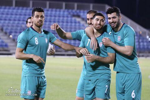 تمرین تیم ملی ایران در بحرین (19 خرداد 1400)