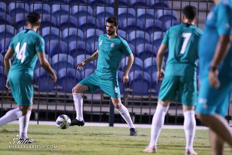 سعید عزتاللهی؛ تمرین تیم ملی ایران در بحرین (19 خرداد 1400)