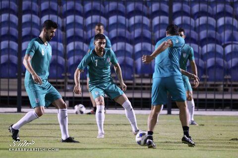 علیرضا جهانبخش؛ تمرین تیم ملی ایران در بحرین (19 خرداد 1400)