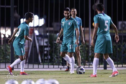 سیامک نعمتی؛ تمرین تیم ملی ایران در بحرین (19 خرداد 1400)
