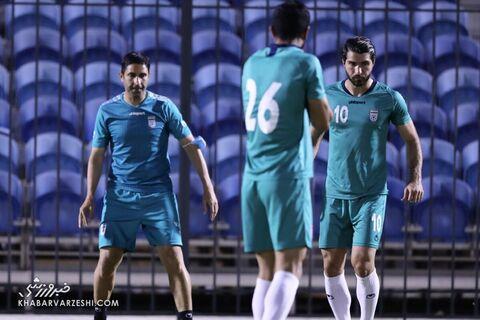 وحید هاشمیان؛ تمرین تیم ملی ایران در بحرین (19 خرداد 1400)