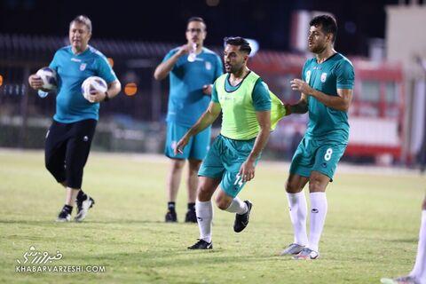 سامان قدوس؛ تمرین تیم ملی ایران در بحرین (19 خرداد 1400)