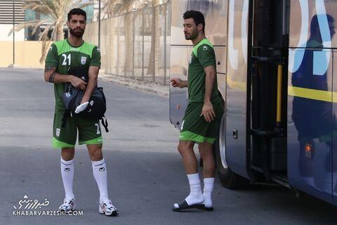 میلاد سرلک و شجاعخلیلزاده؛ تمرین تیم ملی ایران در بحرین (20 خرداد 1400)