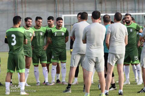 تمرین تیم ملی ایران در بحرین (20 خرداد 1400)