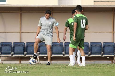 وحید هاشمیان؛ تمرین تیم ملی ایران در بحرین (20 خرداد 1400)