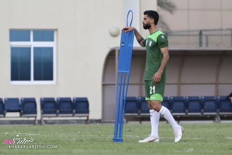 میلاد سرلک؛ تمرین تیم ملی ایران در بحرین (20 خرداد 1400)