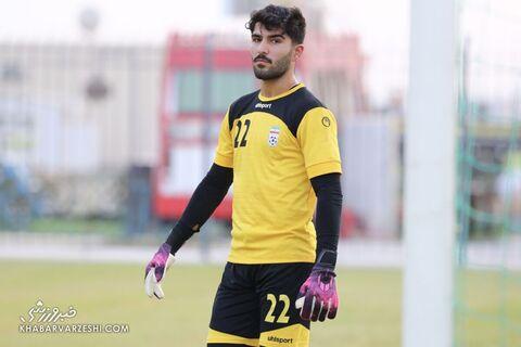 امیر عابدزاده؛ تمرین تیم ملی ایران در بحرین (20 خرداد 1400)