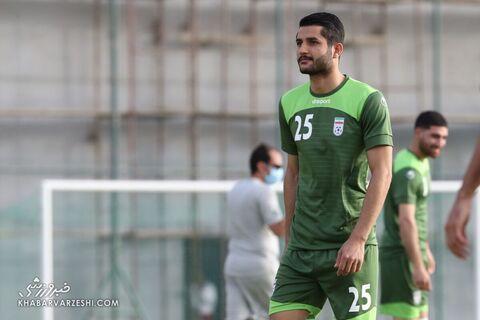 عارف غلامی؛ تمرین تیم ملی ایران در بحرین (20 خرداد 1400)