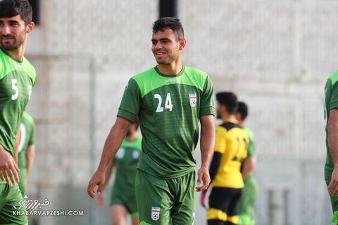 جعفر سلمانی؛ تمرین تیم ملی ایران در بحرین (20 خرداد 1400)