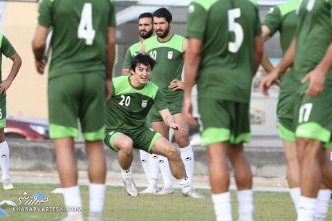 سردار آزمون؛ تمرین تیم ملی ایران در بحرین (20 خرداد 1400)