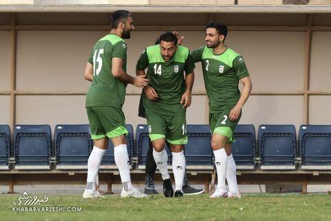 سامان قدوس، صادق محرمی و کاوه رضایی؛ تمرین تیم ملی ایران در بحرین (20 خرداد 1400)