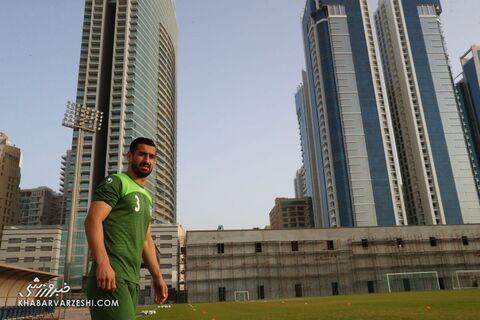 احسان حاجصفی؛ تمرین تیم ملی ایران در بحرین (20 خرداد 1400)