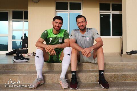 علیرضا جهانبخش؛ تمرین تیم ملی ایران در بحرین (20 خرداد 1400)
