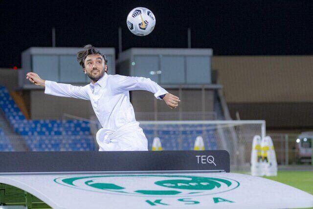تصویری جالب از شاهزاده عربستان/ عکس روز رسانههای ورزشی سعودی