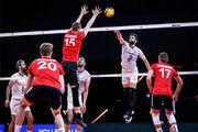 سقوط والیبال ایران در رده بندی جهانی