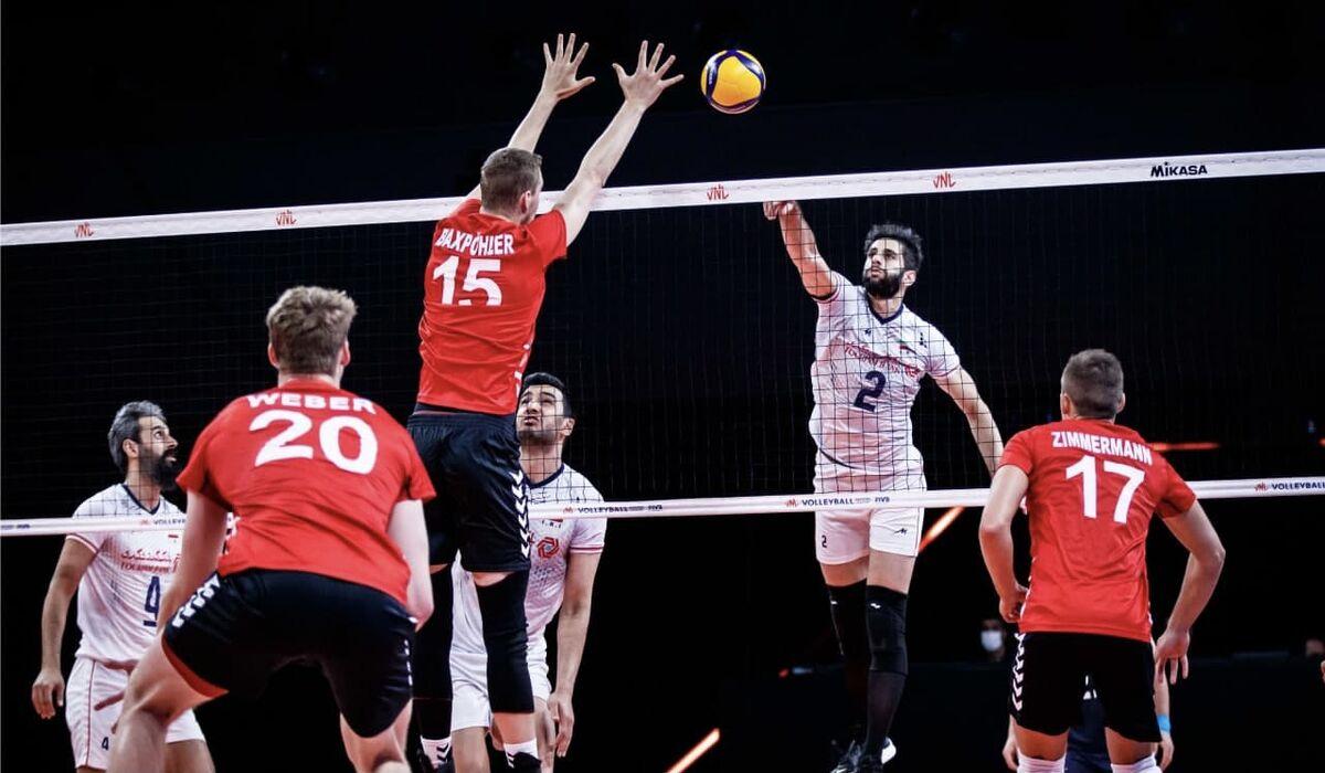 ویدیو| خلاصه والیبال ایران ۲-۳ آلمان