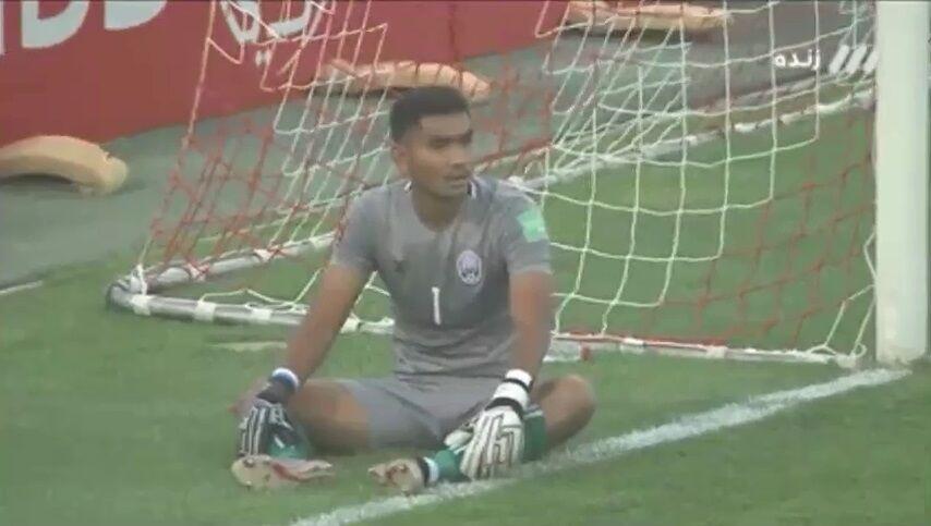 ویدیو  گل چهارم ایران به کامبوج با اشتباه مدافع حریف