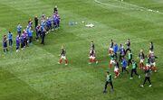 عکس| لحظهای ماندگار در تاریخ جام ملتها/ تشویق حریف بعد از لحظات پراسترس