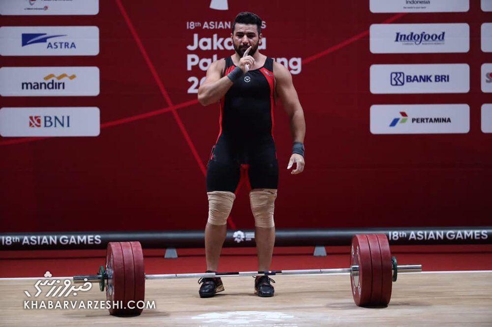 قلم قرمز فدراسیون روی اسم سهراب/ دومین وزنهبردار ایران در توکیو مشخص شد