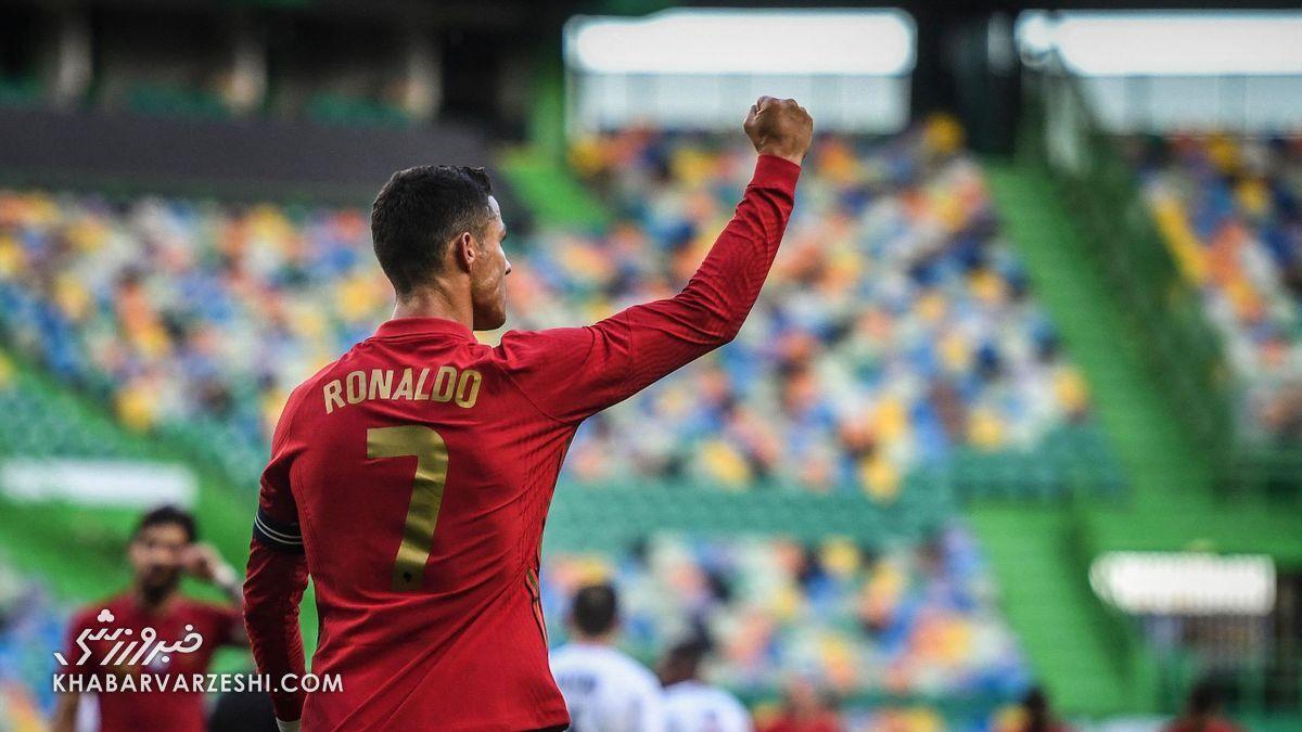رکوردهایی که رونالدو میتواند بشکند/ از رکورد دایی تا بیشترین برد در یورو