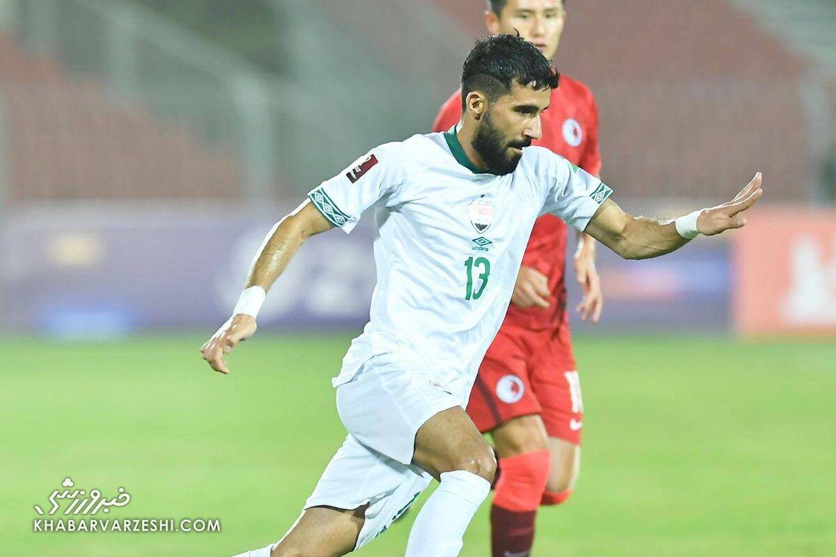 ستاره پرسپولیسی تیم ملی عراق به بازی با ایران میرسد