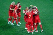 بلژیک ۳ - روسیه صفر/ شیاطینسرخ قلعه تزارها را فتح کردند