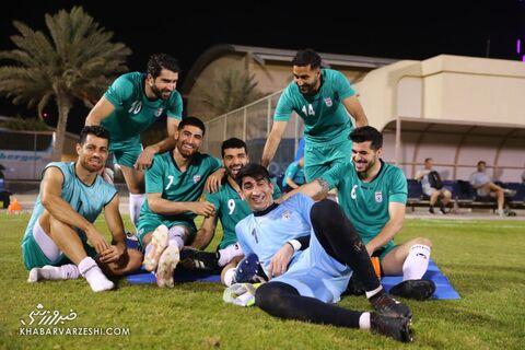 تمرین تیم ملی ایران در بحرین (23 خرداد 1400)
