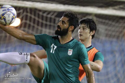 محمدحسین کنعانیزادگان؛ تمرین تیم ملی ایران در بحرین (23 خرداد 1400)